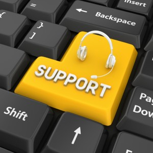 Computer Support Button