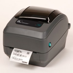 Zebra GX420 Desktop Thermal Barcode Printer